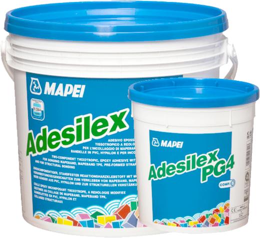 Mapei Adesilex PG4 двухкомпонентный тиксотропный эпоксидный клей для приклеивания лент Mapeband