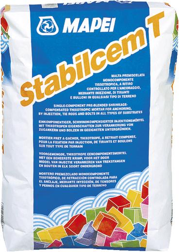 Mapei Stabilcem T тиксотропный строительный состав с контролируемой усадкой