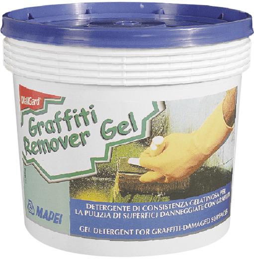 Mapei Wallgard Graffiti Remover Gel желеобразный моющий состав для очистки поверхностей (5 кг)
