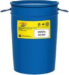 КраскаВо АК-593 эмаль для разметки (17 кг) белая