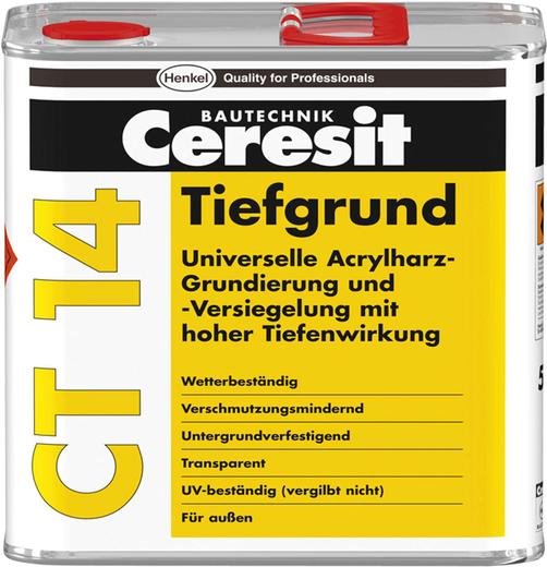 Ceresit CT 14 Tiefgrund грунтовка универсальная глубоко проникающая (5 л)