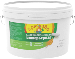 КраскаВо краска интерьерная (15 кг) белая
