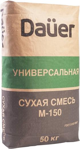 Dauer М-150 универсальная сухая смесь
