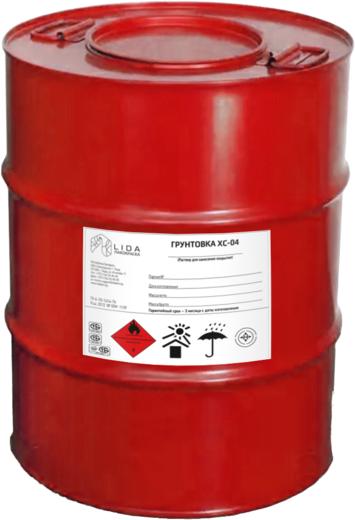 Лакокраска Lida ХС-04 грунтовка спиртостойкая