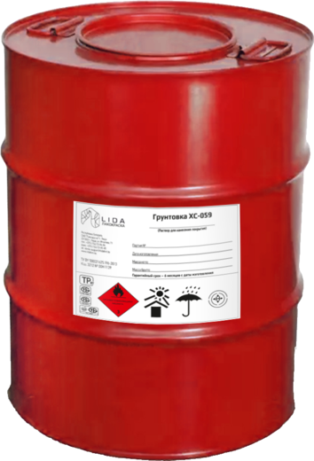 Лакокраска Lida ХС-059 грунтовка двухкомпонентная (полуфабрикат)