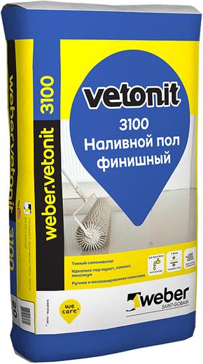 Вебер Ветонит 3100 наливной пол финишный (20 кг)