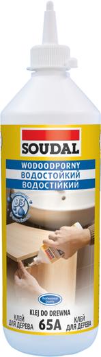 Soudal 65А водостойкий клей для дерева (750 мл)