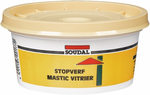 Soudal Stopverf Mastic Vitrier замазка для остекления (500 г) коричневая