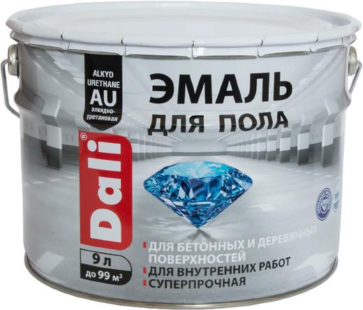 Dali эмаль для пола для бетонных и деревянных поверхностей (2 л) белая