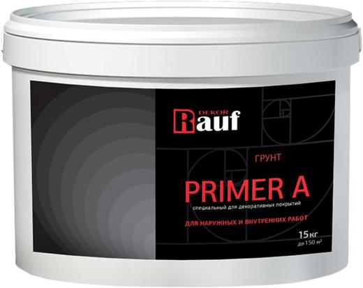 Rauf Dekor Primer A грунт специальный для декоративных покрытий (7 кг)
