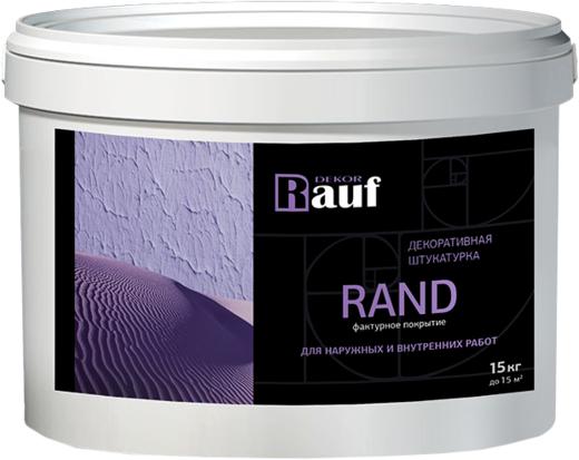Rauf Dekor Rand декоративная штукатурка фактурное покрытие для наружных и внутренних работ