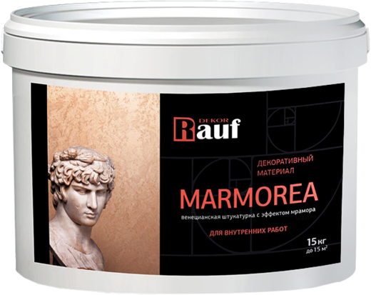 Rauf Dekor Marmorea декоративный материал венецианская штукатурка с эффектом мрамора для внутренних работ