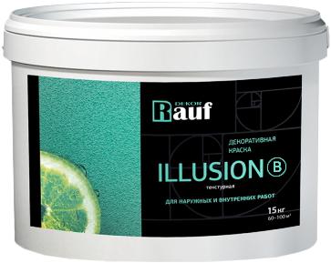 Rauf Dekor Illusion B декоративная краска текстурная для наружных и внутренних работ