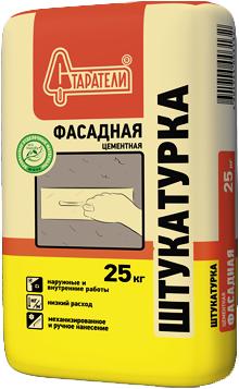 Старатели штукатурка цементная фасадная (25 кг)