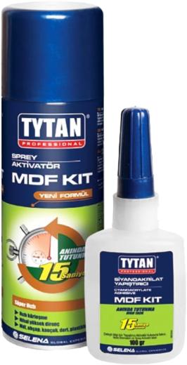 Титан Professional двухкомпонентный цианакрилатный клей для МДФ (250 мл)