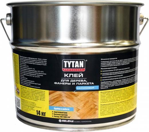 Титан Professional клей для дерева, фанеры и паркета (14 кг)