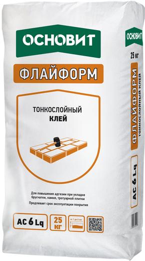Флайформ ac 6 lq тонкослойный 25 кг