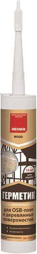 Неомид герметик для OSB плит и деревянных поверхностей