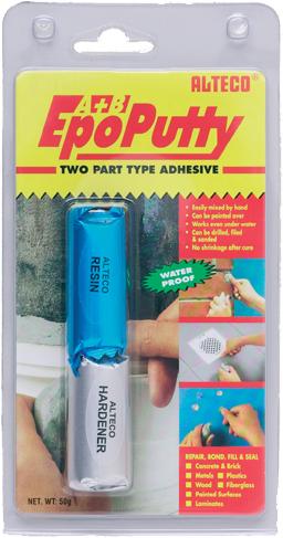 Alteco Epo Putty холодная сварка двухкомпонентная
