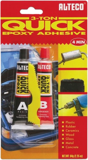 Alteco Quick Epoxy Adhesive холодная сварка двухкомпонентная (56.7 г)
