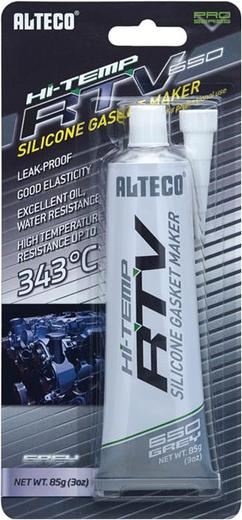 Alteco Hi-Temp RTV высокотемпературный силиконовый герметик прокладок (85 г) черный
