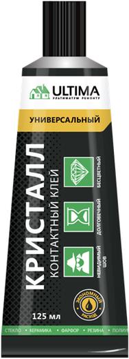 Ultima Кристалл контактный клей универсальный (30 мл шоу-бокс)