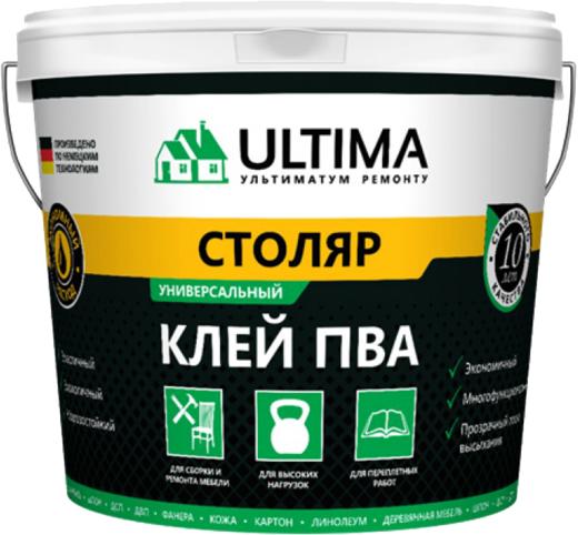 Ultima ПВА Столяр универсальный клей (2.3 кг)