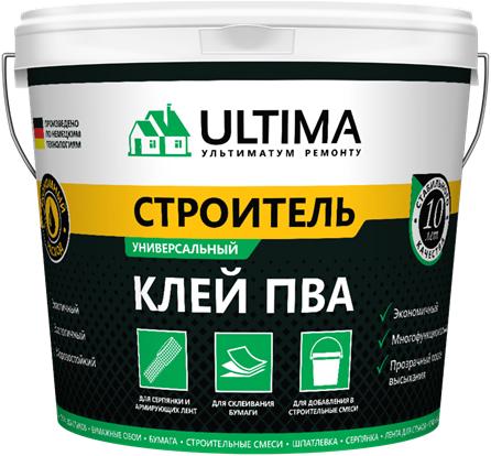 Ultima ПВА Строитель универсальный клей (2.3 кг)