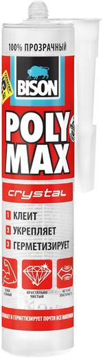 Bison Poly Max Crystal строительный клей-герметик (300 г)