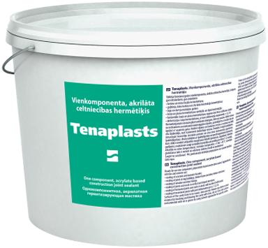 Tenax Тенапласт однокомпонентный полиакрилатный строительный герметик (15 кг) белый