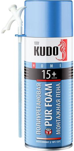 Kudo Home Pur Foam 15+ полиуретановая монтажная пена