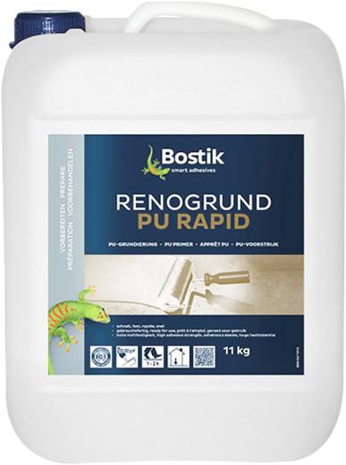 Bostik Renogrund PU Rapid полиуретановая упрочняющая грунтовка (11 кг)