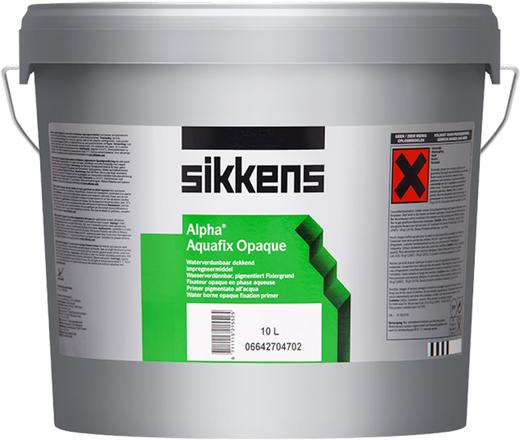 Sikkens Wood Coatings Alpha Aquafix Opaque адгезионный грунт на водной основе (10 л)