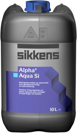 Sikkens Wood Coatings Alpha Aqua Si гидрофобизатор на водной основе для минеральных поверхностей