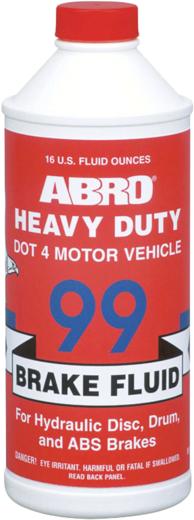 Abro Brake Fluid Heavy Duty Dot 4 жидкость тормозная (485 мл)