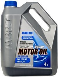 Abro Motor Oil Premium полусинтетическое моторное масло (1 л)