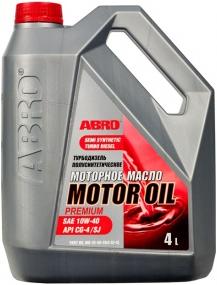 Abro Motor Oil Premium турбодизель полусинтетическое моторное масло