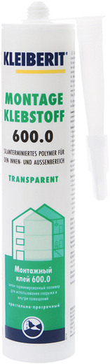 Клейберит Montage Klebstoff 600 универсальный монтажный клей (300 г)