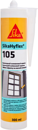 Sika Sikahyflex 105 всепогодный силиконовый герметик