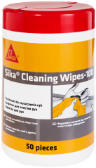 Очищающие салфетки Sika Sika Cleaning Wipes 100