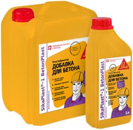 Sika Sikaplast-1 Betonplast пластификатор добавка для раствора