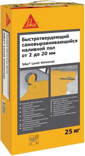 Level universal быстротвердеющий самовыравнивающийся 25 кг