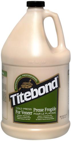 Titebond Cold Press for Veneer клей для приклеивания шпона к плоским поверхностям (3.78 л)