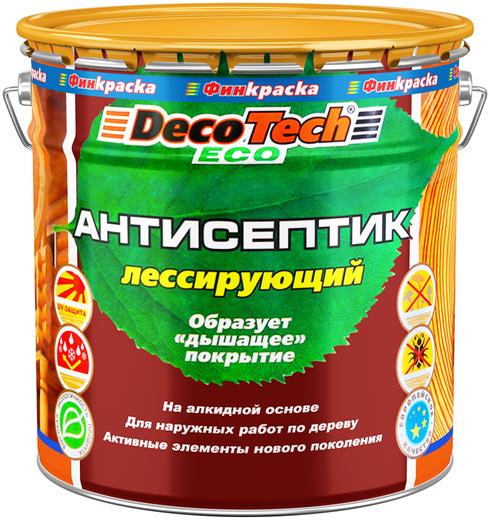 Decotech Eco антисептик лессирующий (10 л) палисандр