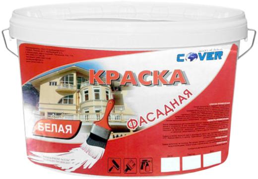 Cover краска фасадная универсальная (25 кг) белая