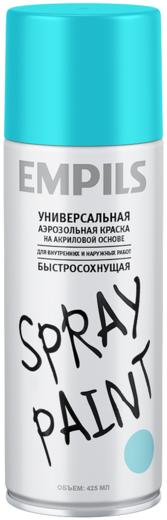 Эмпилс Spray Paint универсальная аэрозольная краска на акриловой основе быстросохнущая