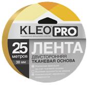 Клейкая лента для фиксации напольных покрытий двусторонняя Kleo Pro (48 мм*25 м)