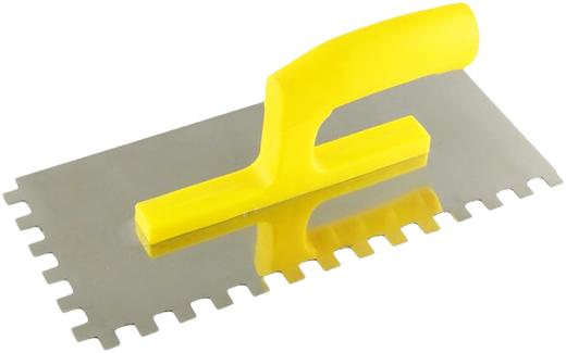 Гладилка зубчатая Кедр (130 мм*280 мм) (зубцы 10 * 10 мм)
