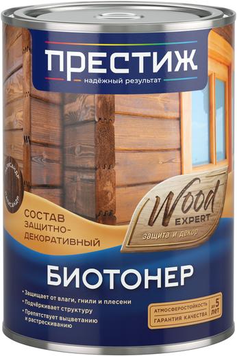Престиж Wood Expert Биотонер состав защитно-декоративный (10 л) дуб