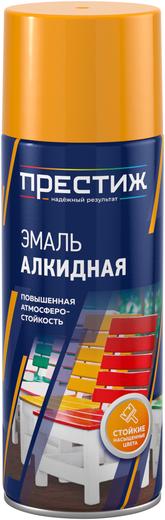 Престиж эмаль алкидная аэрозольная (425 мл) хром металлик